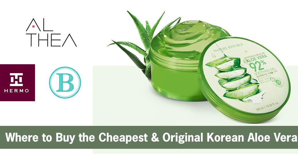 korean aloe vera gel
