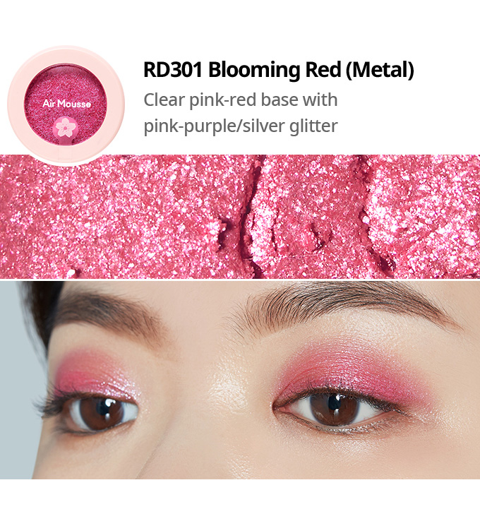 Etude House 2019 Cherry Blossom Blossom Picnic collection air mousse eyes eyeshadow RD301