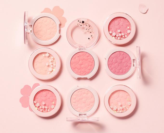 Etude House Cherry Blossom Blossom Picnic Blossom Cheek Shades