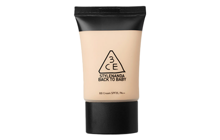 3CE Back To Baby BB Cream SPF35+++